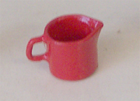 Red Milk Jug Large