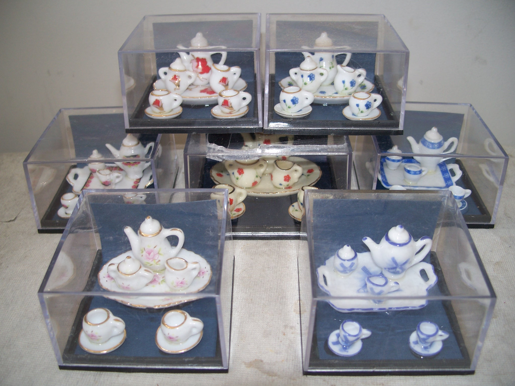 10 Piece Porcelain Tea Sets
