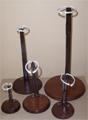 Wood Base Doll Stands