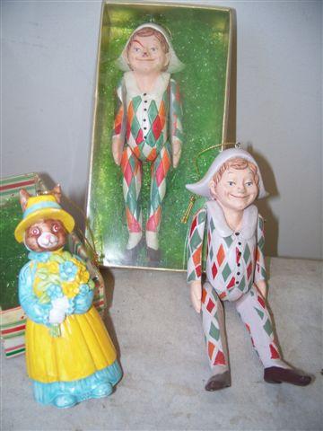 Plaster Figures