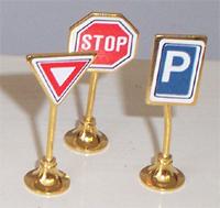 SET 3 STREET SIGN (BR100)