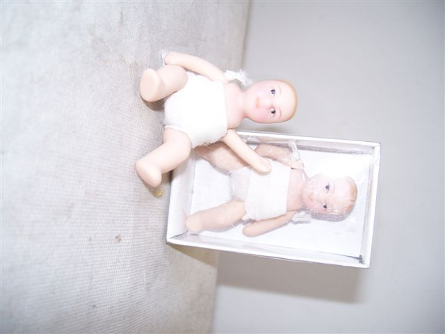 Baby Porcelain Doll House