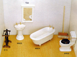 Timber Bathroom Set