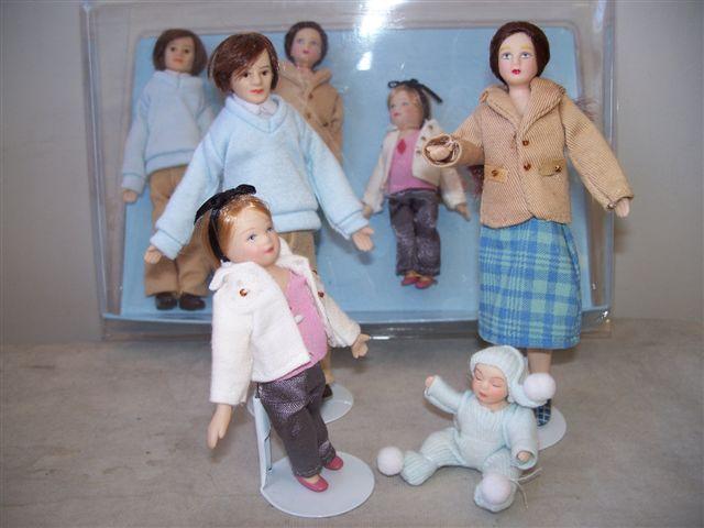 Modern Doll Family