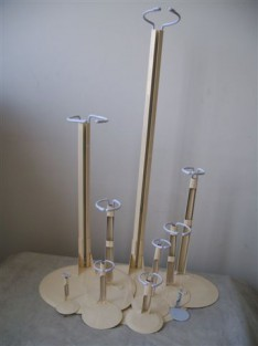 Metal Doll Stands
