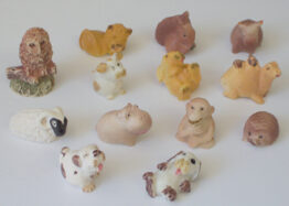 ENGLISH STYLE COLLECTABLE MINI ANIMALS