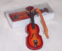 Tiny Violin and Bow