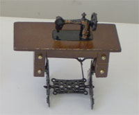 Large Treddle Sewing Machine