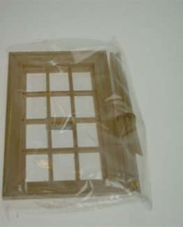 Doll House Lattice Window