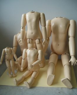 Wooden Doll Body
