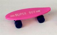 Pink Plastic Skateboard
