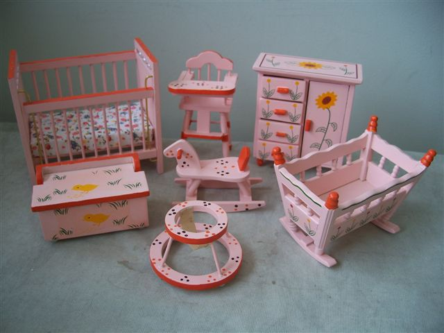 Pink Baby Room Set
