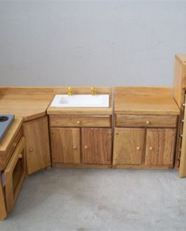 Pine Kitchen Set